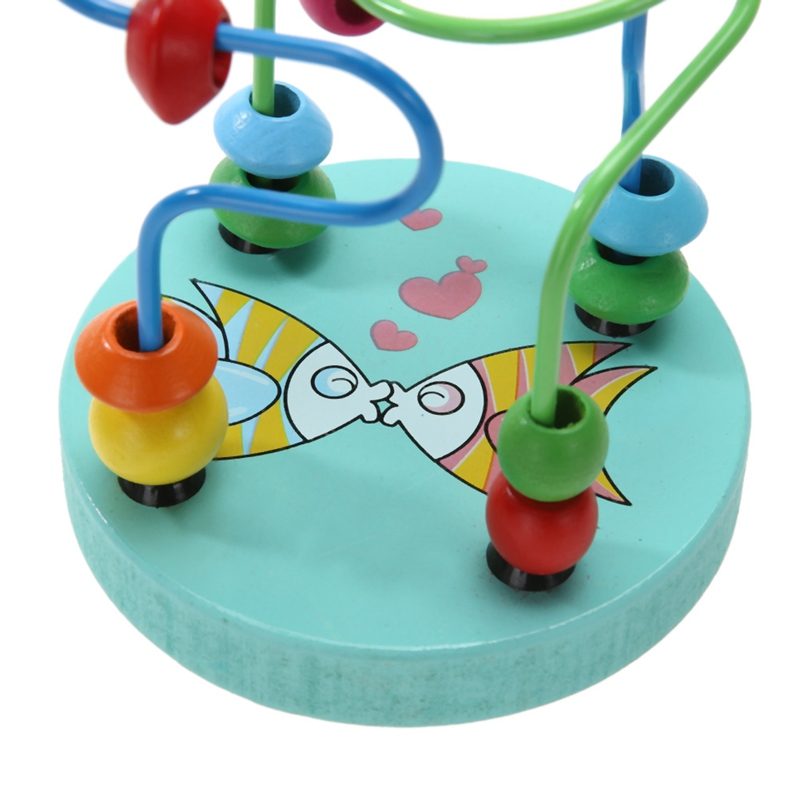 Wooden Round Beads Puzzle Toy