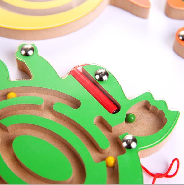 Beads Magnetic Pens Moving Maze Toy