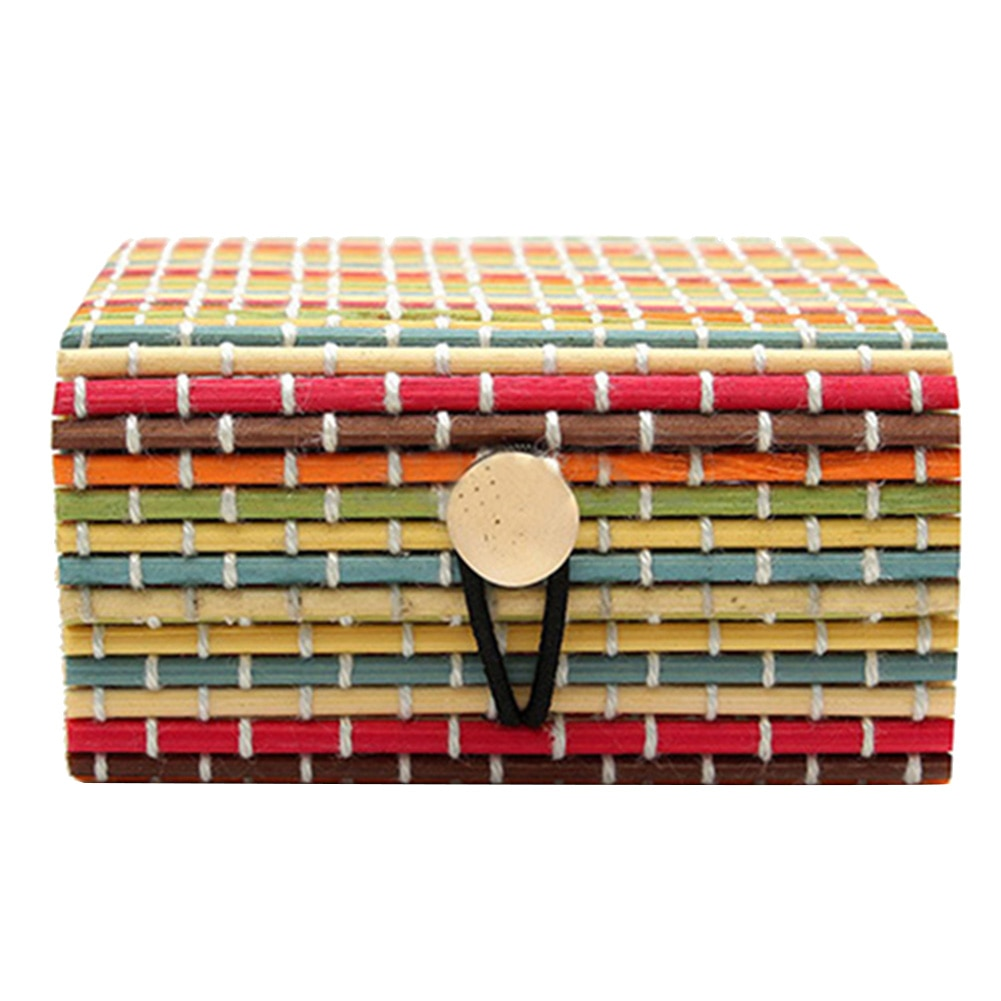 Colorful Wooden Storage Boxes