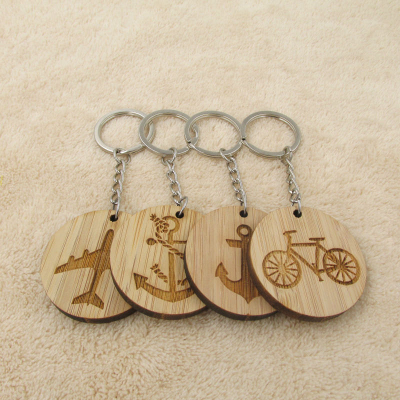 Wooden Keyring Key Chain