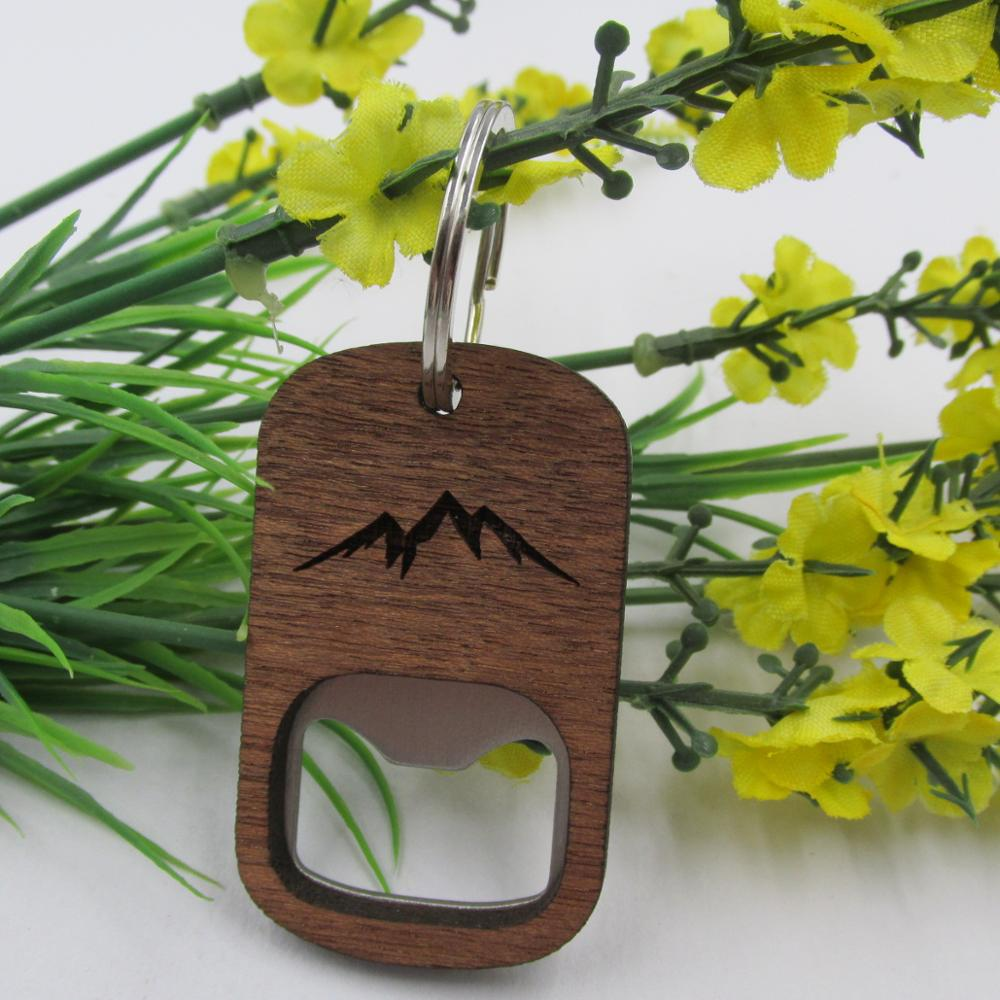 Wooden Openers Key Chain