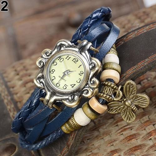 Leather Bracelet Wrist Watch Ladies