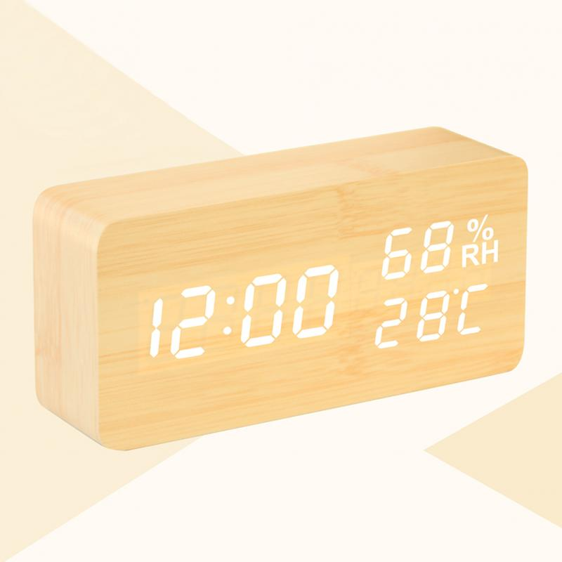 Smart Wooden Alarm Clock