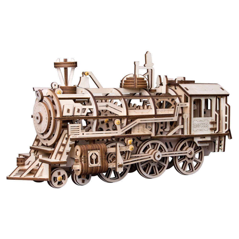 Best Wooden Toys for Your Kids Wooden Train Model Building Set