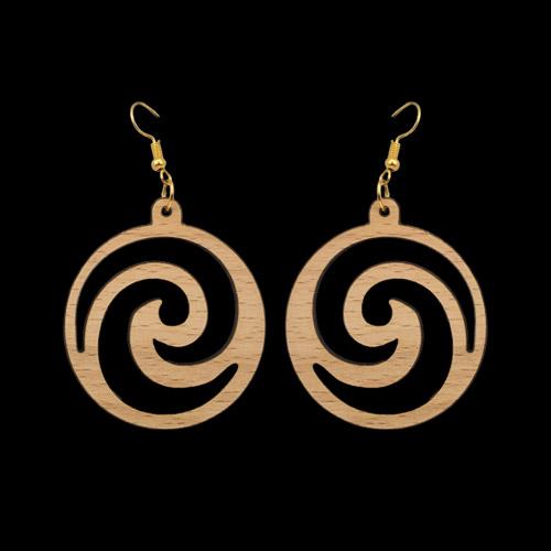 Wooden Earrings 138 for Women's Fashion