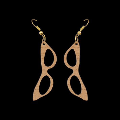 Wooden Earrings 151 for Women's Fashion