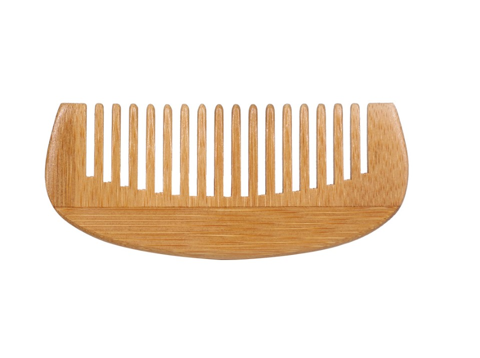 Wood Grain Portable Bamboo Hair Comb