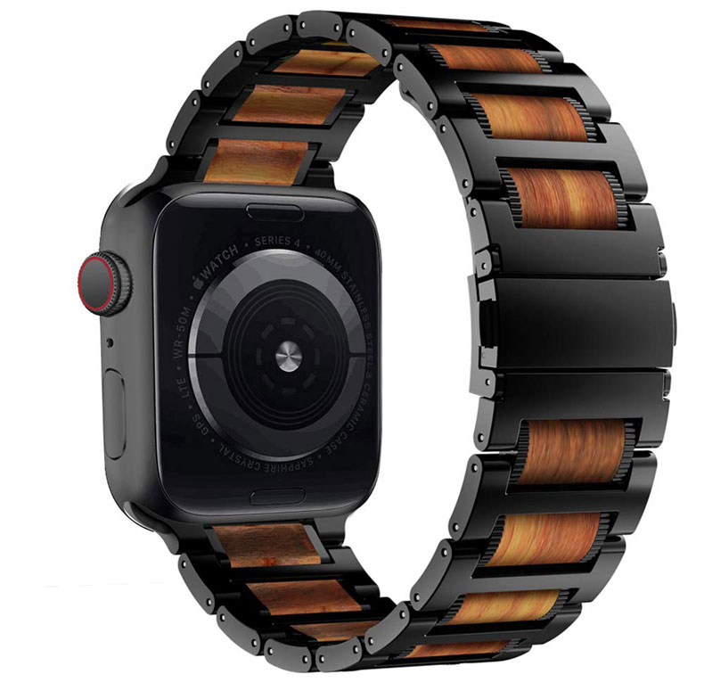 Wooden Apple Watch Bands