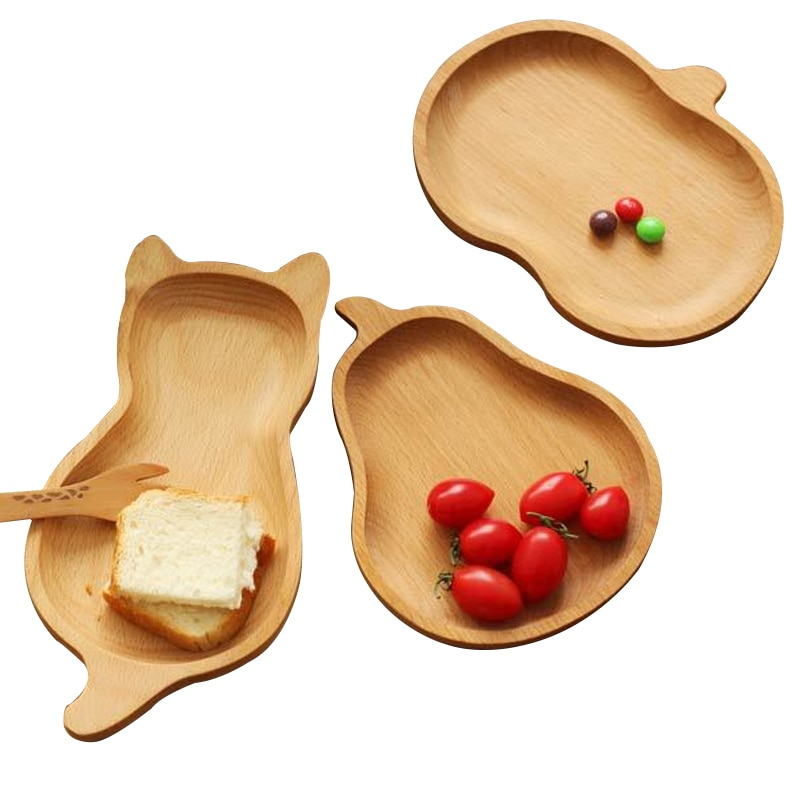 Wooden Serving Trays for Kitchen Decor