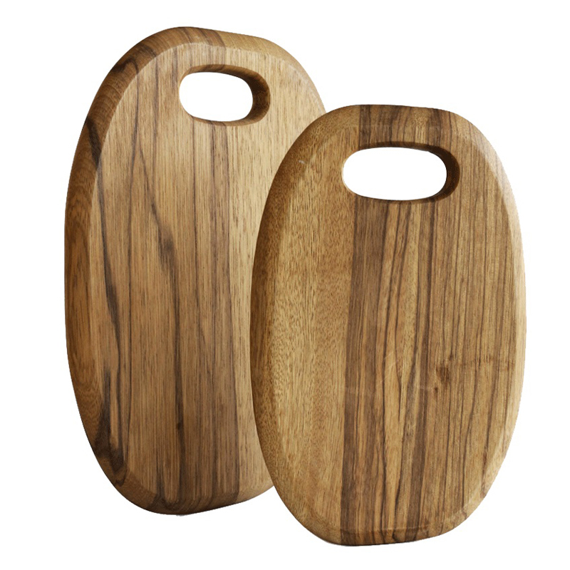Wood Cutting Board Kitchen for Food Serving & Pizza Bread Tray