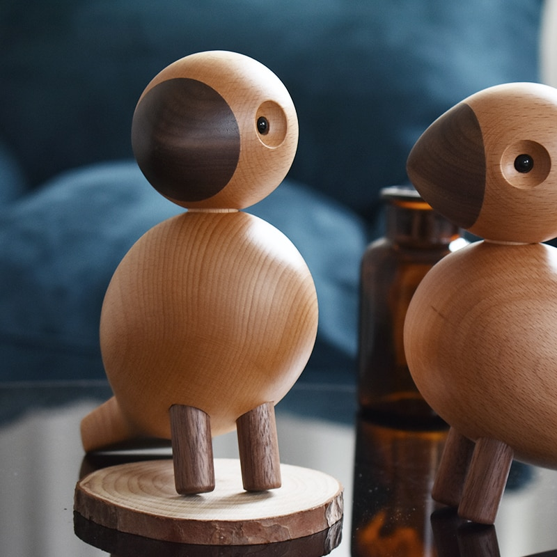 Handmade Wooden Song Bird