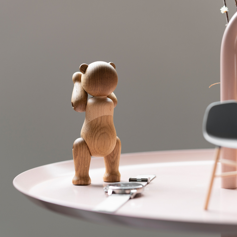Handmade Wooden Bear Figurines