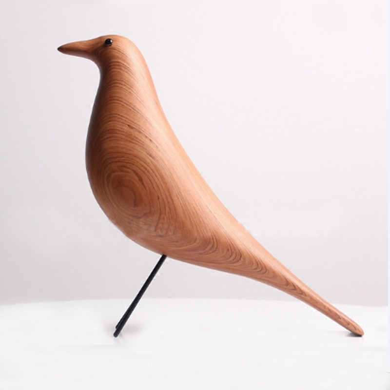 Wooden Handmade Rosewood Bird