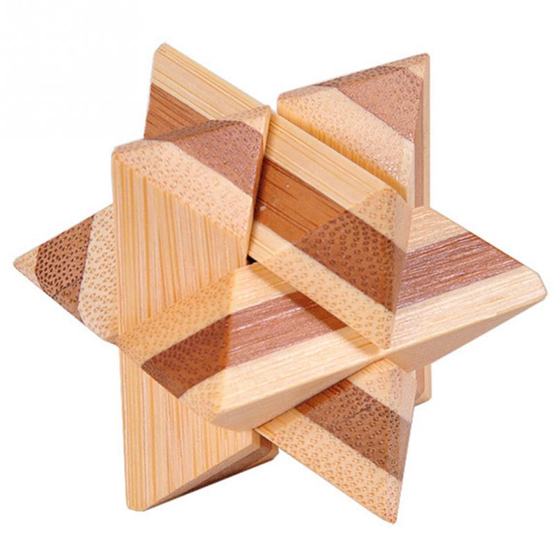 Unique Gift Ideas Wooden Interlocking Puzzles Toys