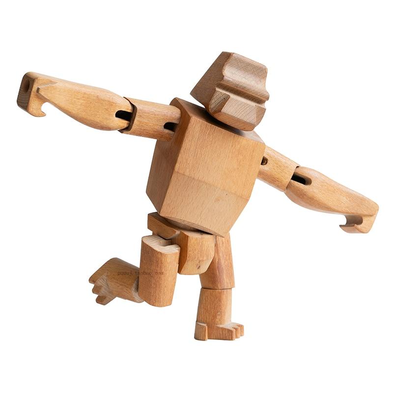 wooden handmade figurine
