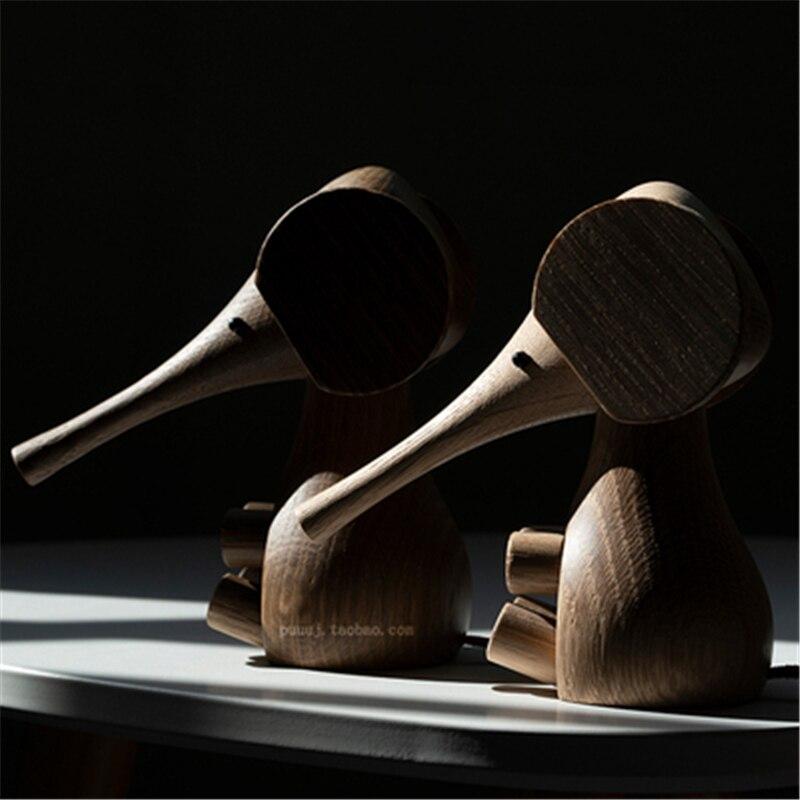 Handmade Wooden Elephant Figurine