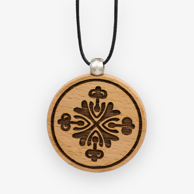 Wooden Pendant 501 for Women's Fashion