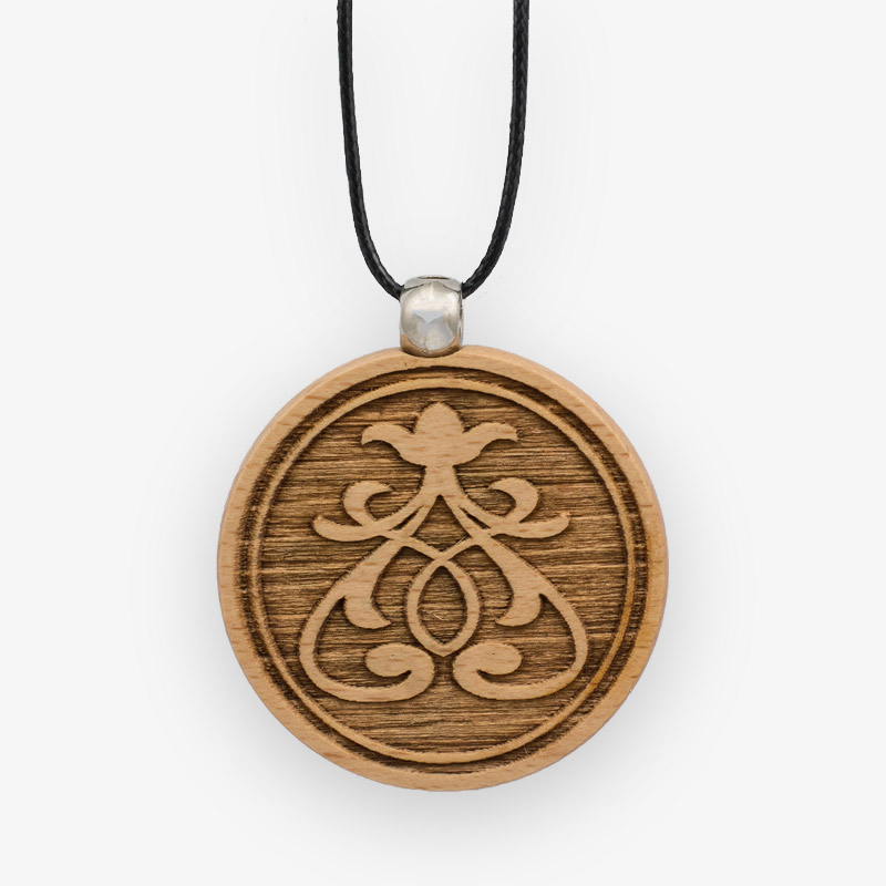 Wooden Pendant 502 for Women's Fashion