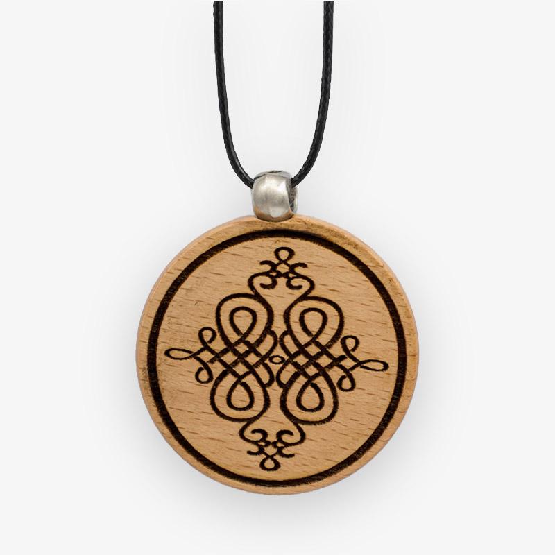 Wooden Pendant 503 for Women's Fashion
