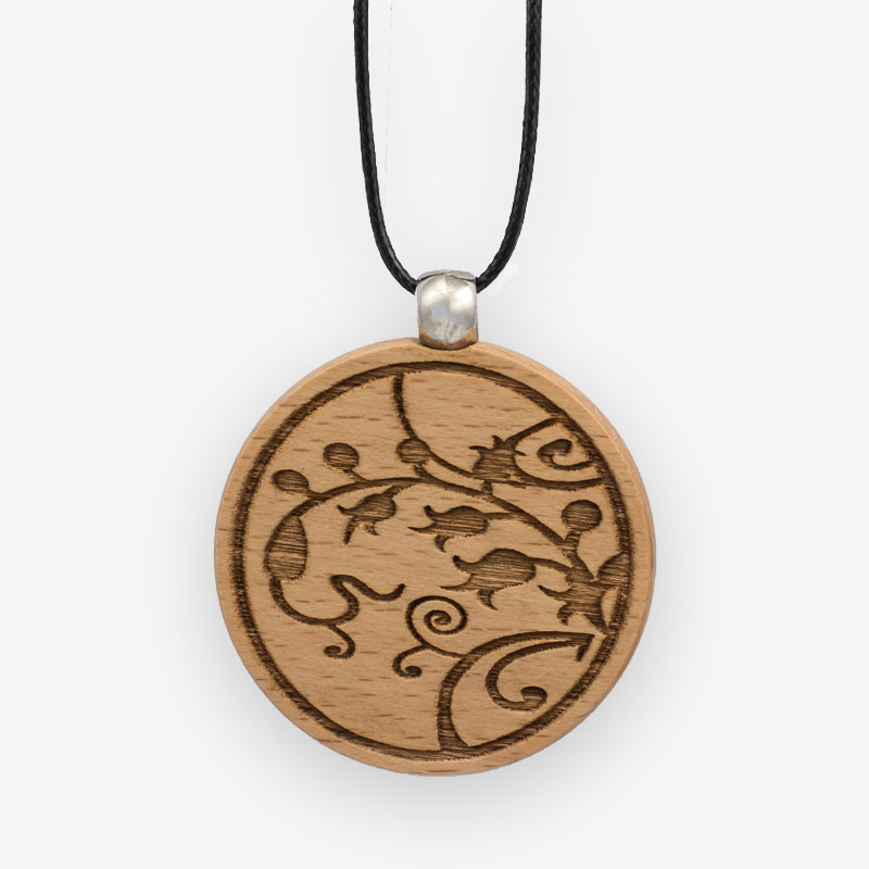 Wooden Pendant 508 for Women's Fashion