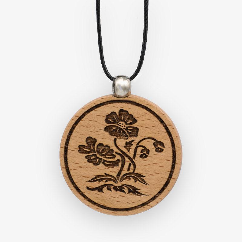 Wooden Pendant 510 for Women's Fashion