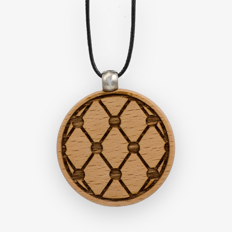 Wooden Pendant 515 for Women's Fashion