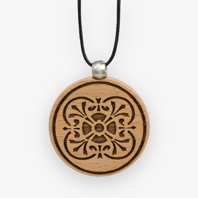 Wooden Pendant 518 for Women's Fashion