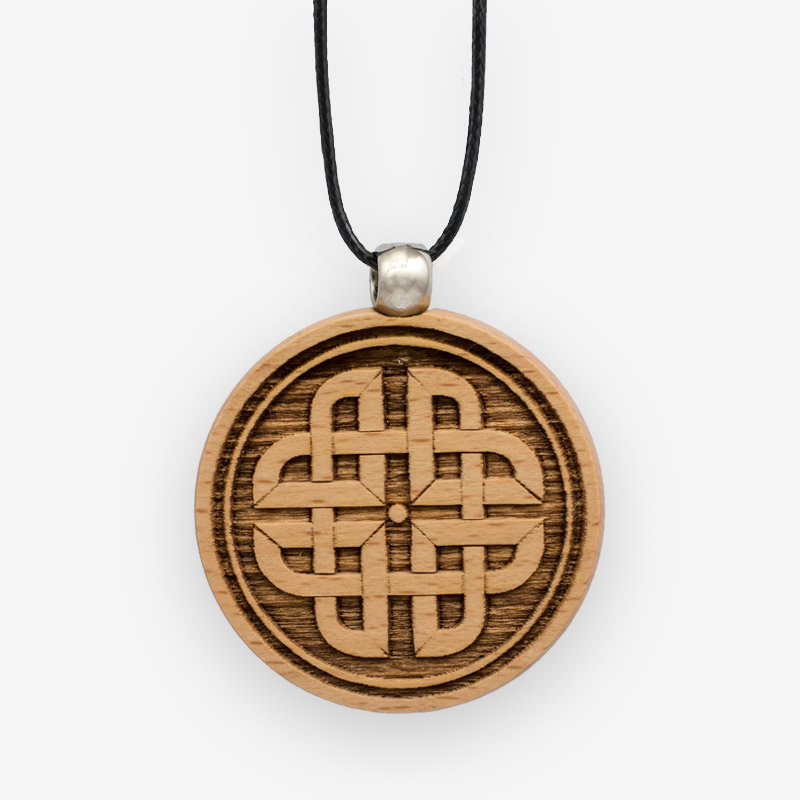 Wooden Pendant 519 for Women's Fashion