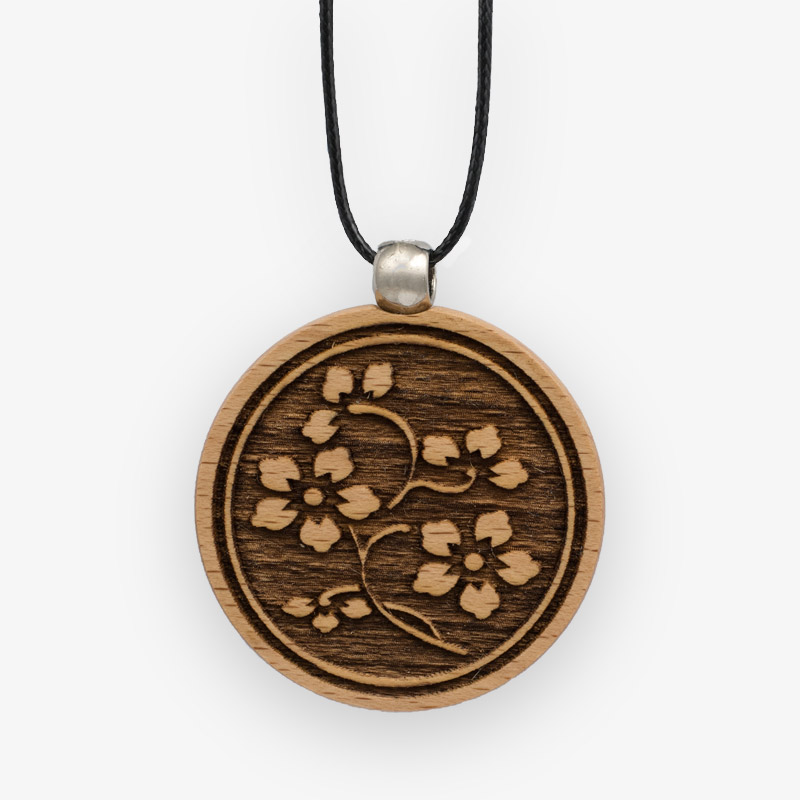 Wooden Pendant 520 for Women's Fashion
