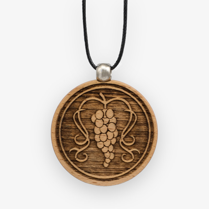 Wooden Pendant 523 for Women's Fashion