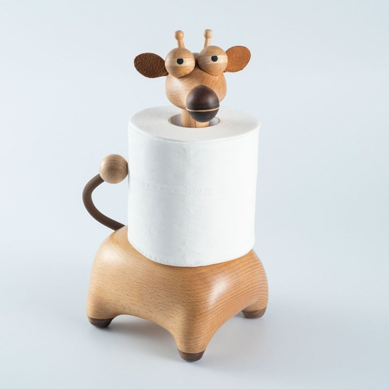 Giraffe Paper Towel Holder