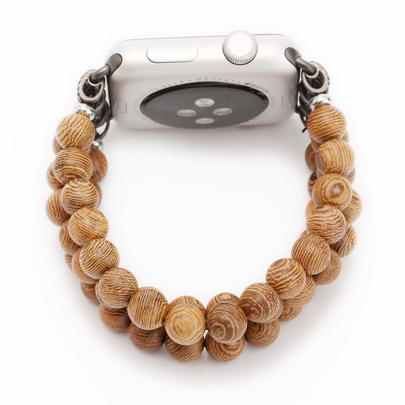 Wooden Beads Watch Band