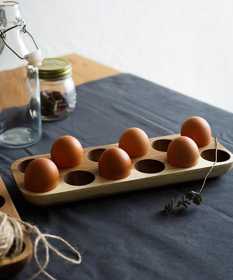 Wooden Egg Storage Box