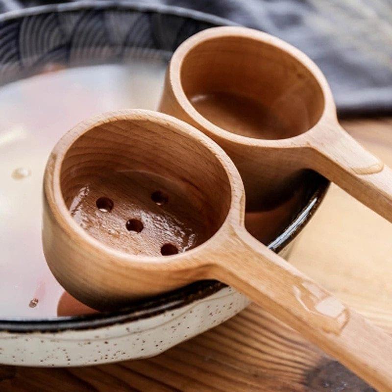 Wooden Spoon Scoop Miso