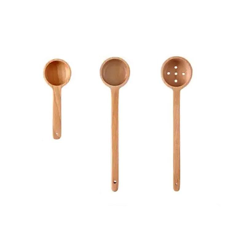 Wooden Spoon Scoop Miso Soup Cutlery