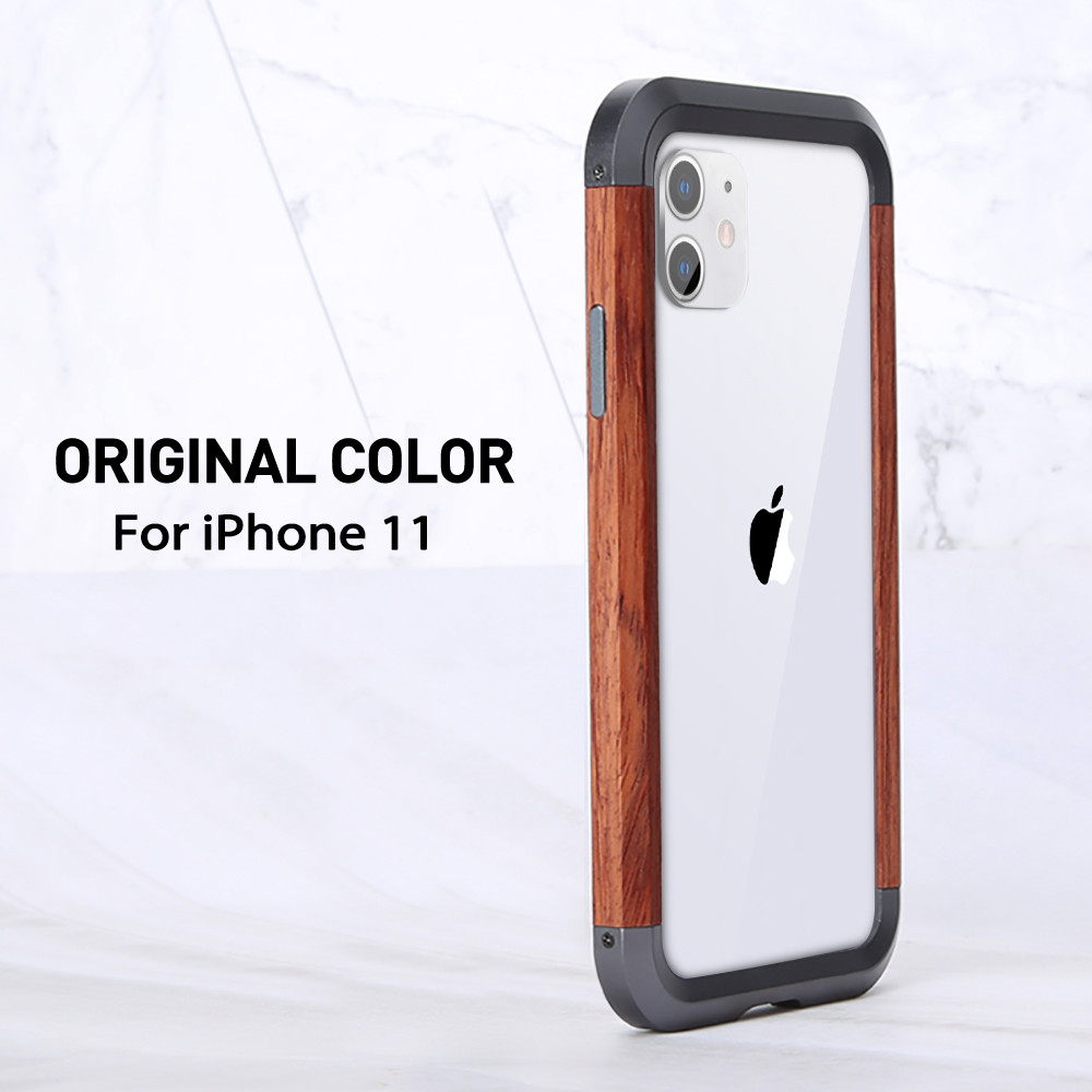 Wooden Metal Phone Case