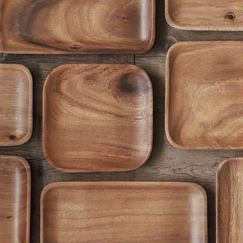 Acacia Solid Wood Tray