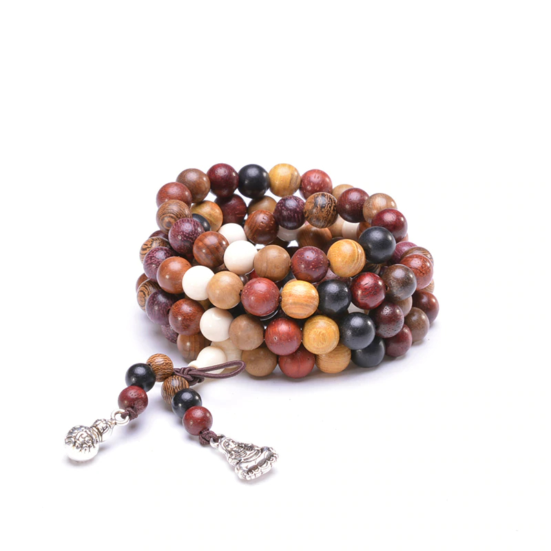Sandalwood Prayer Beads Bracelets