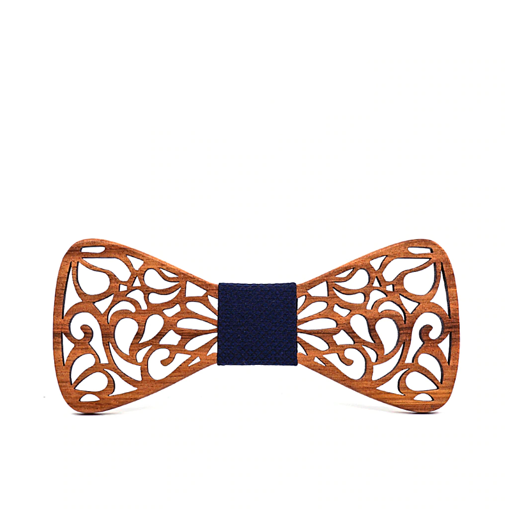 New Floral Wood Bow