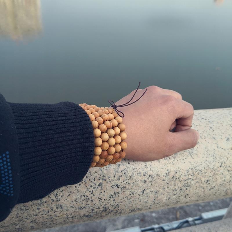 Wood Bracelet Mala